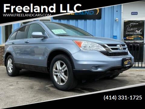 2010 Honda CR-V for sale at Freeland LLC in Waukesha WI