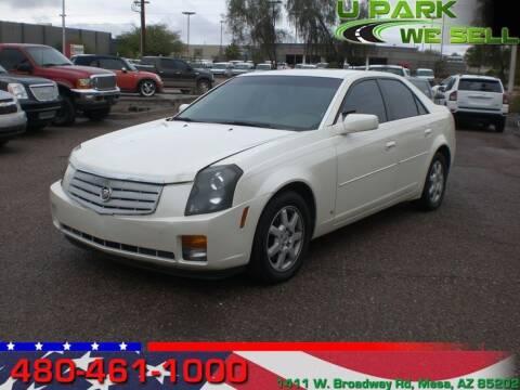 2007 Cadillac CTS for sale at UPARK WE SELL AZ in Mesa AZ