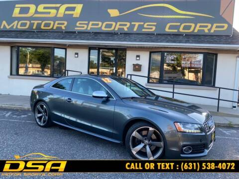2012 Audi S5 for sale at DSA Motor Sports Corp in Commack NY