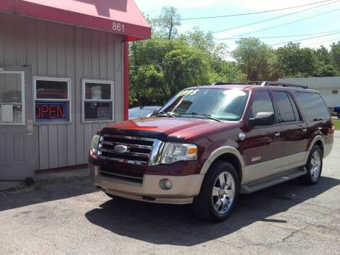 2008 Ford Expedition EL for sale at Midwest Auto & Truck 2 LLC in Mansfield OH