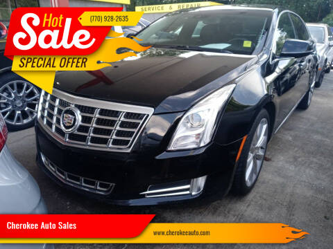 2013 Cadillac XTS for sale at Cherokee Auto Sales in Acworth GA