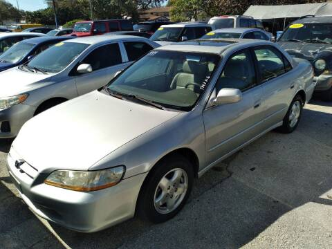 1999 Honda Accord for sale at P S AUTO ENTERPRISES INC in Miramar FL