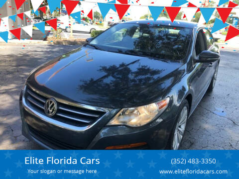 2012 Volkswagen CC for sale at Elite Florida Cars in Tavares FL
