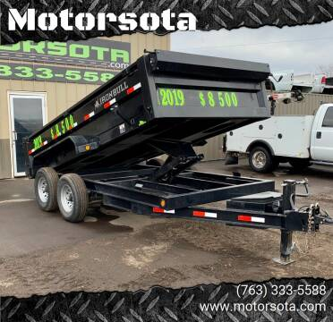 2019 Norstar Iron Bull 14' Dump Trailer for sale at Motorsota in Becker MN