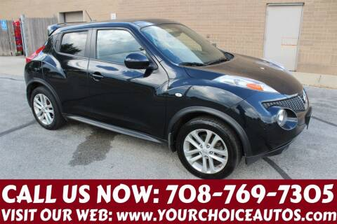 2013 Nissan JUKE for sale at Your Choice Autos in Posen IL
