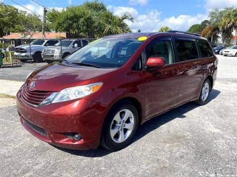 2015 Toyota Sienna for sale at EZ Own Car Sales of Miami in Miami FL