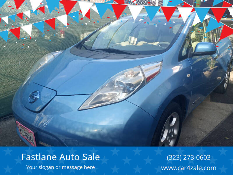 2011 Nissan LEAF for sale at Fastlane Auto Sale in Los Angeles CA