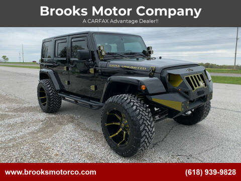 2017 Jeep Wrangler Unlimited for sale at Brooks Motor Company in Columbia IL