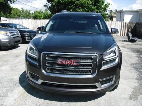 2015 GMC Acadia for sale at SUPERAUTO AUTO SALES INC in Hialeah FL