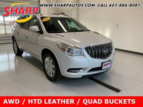 2017 Buick Enclave for sale at Sharp Automotive in Watertown SD