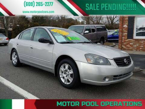 2006 Nissan Altima for sale at Motor Pool Operations in Hainesport NJ