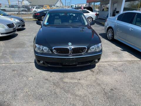 2007 BMW 7 Series for sale at Sandy Lane Auto Sales and Repair in Warwick RI
