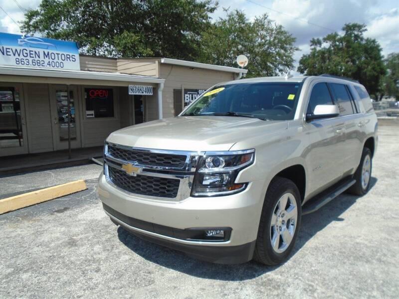2016 Chevrolet Tahoe for sale at New Gen Motors in Lakeland FL