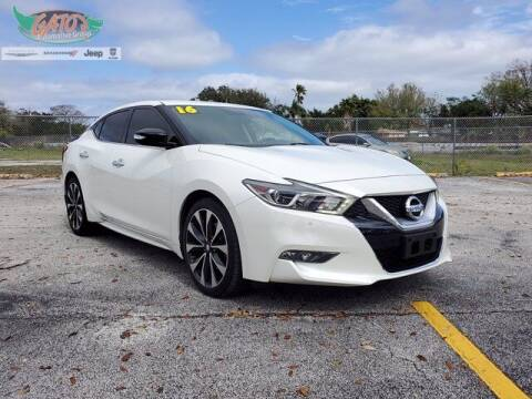 2016 Nissan Maxima for sale at GATOR'S IMPORT SUPERSTORE in Melbourne FL