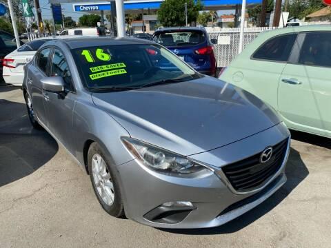 2016 Mazda MAZDA3 for sale at CAR GENERATION CENTER, INC. in Los Angeles CA
