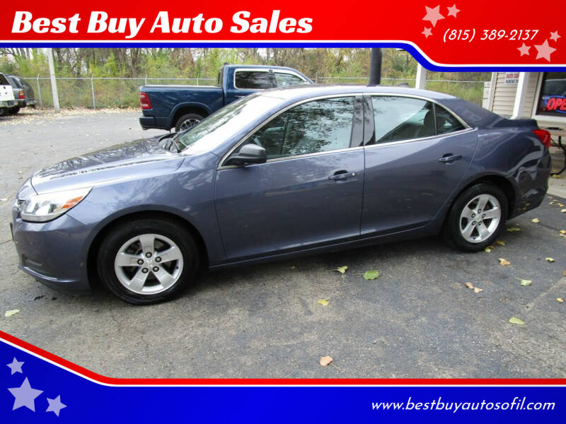 2014 Chevrolet Malibu for sale at Best Buy Auto Sales in South Beloit IL