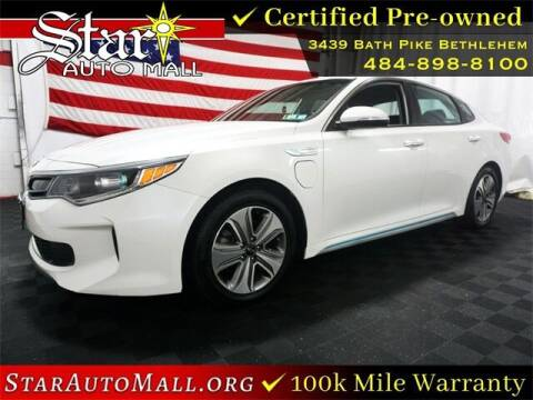 2017 Kia Optima Plug-In Hybrid for sale at STAR AUTO MALL 512 in Bethlehem PA