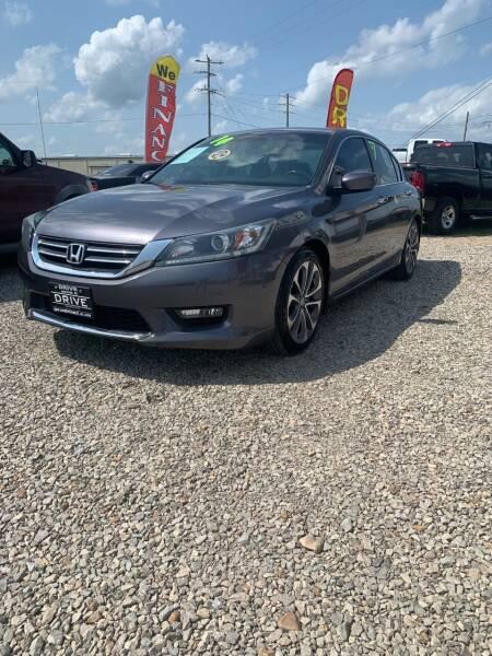 2014 Honda Accord for sale at Drive in Leachville AR