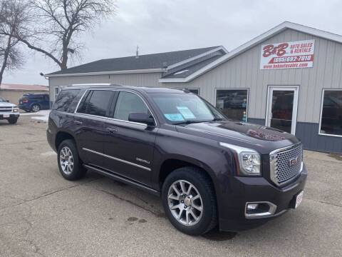 2015 GMC Yukon for sale at B & B Auto Sales in Brookings SD