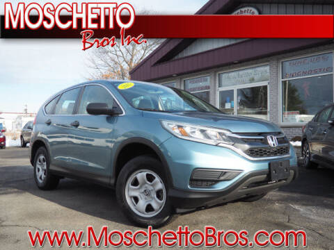 2015 Honda CR-V for sale at Moschetto Bros. Inc in Methuen MA