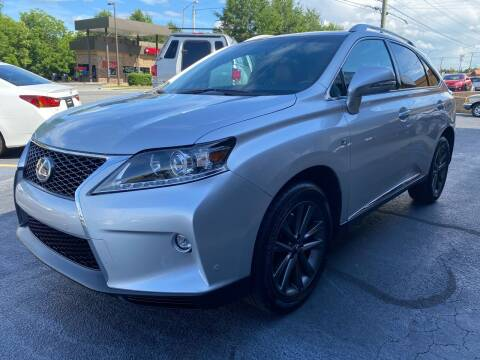 2015 Lexus RX 350 for sale at Viewmont Auto Sales in Hickory NC