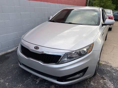 2012 Kia Optima for sale at Best Deal Motors in Saint Charles MO