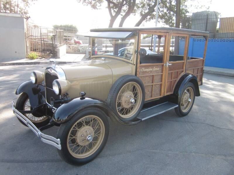 1929 Ford A woody for sale at Best Quality Auto Sales in Sun Valley CA