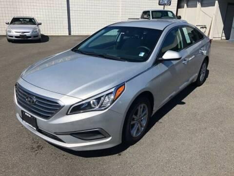 2017 Hyundai Sonata for sale at TacomaAutoLoans.com in Lakewood WA