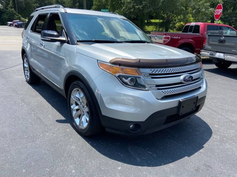 2014 Ford Explorer for sale at Luxury Auto Innovations in Flowery Branch GA