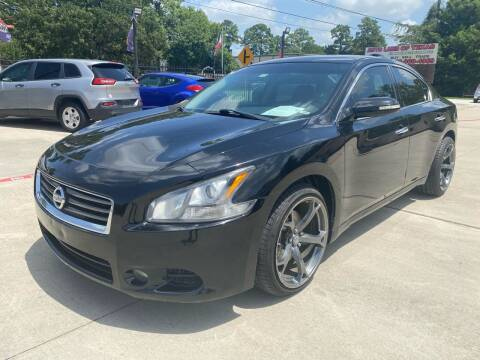 2013 Nissan Maxima for sale at Auto Land Of Texas in Cypress TX
