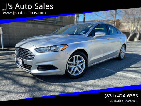 2015 Ford Fusion for sale at JJ's Auto Sales in Salinas CA