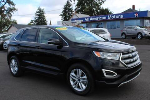 2017 Ford Edge for sale at All American Motors in Tacoma WA