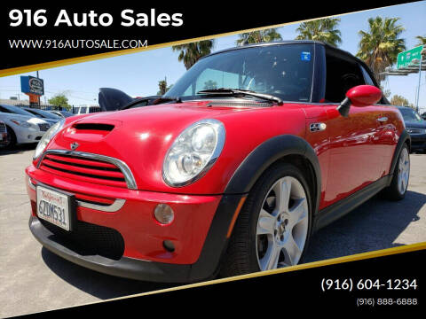 2007 MINI Cooper for sale at 916 Auto Sales in Sacramento CA