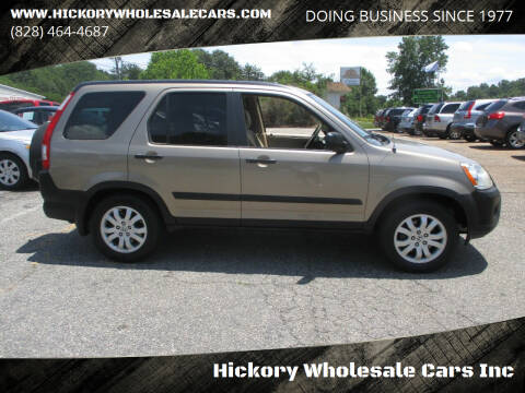 2005 Honda CR-V for sale at Hickory Wholesale Cars Inc in Newton NC