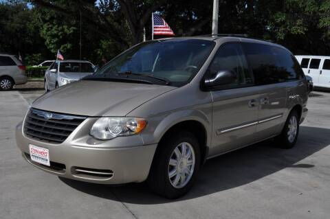 2006 Chrysler Town and Country for sale at STEPANEK'S AUTO SALES & SERVICE INC. in Vero Beach FL