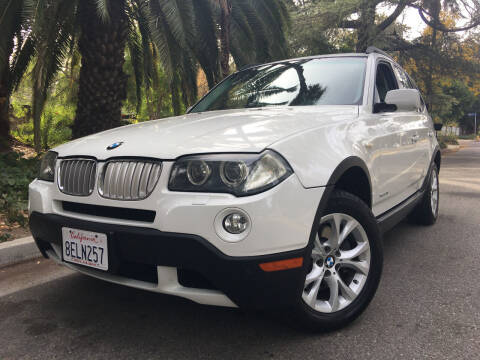 2009 BMW X3 for sale at Valley Coach Co Sales & Lsng in Van Nuys CA