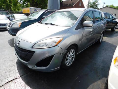 2012 Mazda MAZDA5 for sale at WOOD MOTOR COMPANY in Madison TN
