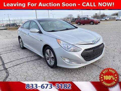 2015 Hyundai Sonata Hybrid for sale at Glenbrook Dodge Chrysler Jeep Ram and Fiat in Fort Wayne IN