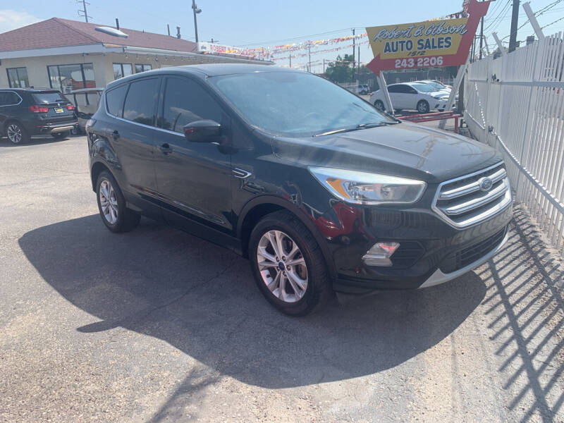 2017 Ford Escape for sale at Robert B Gibson Auto Sales INC in Albuquerque NM