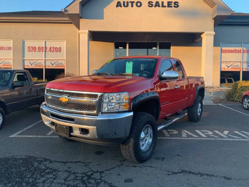 2012 Chevrolet Silverado 1500 for sale at Keystone Used Auto Sales in Brodheadsville PA
