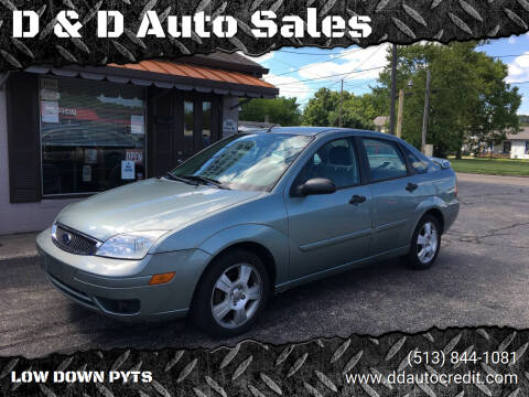 2005 Ford Focus for sale at D & D Auto Sales in Hamilton OH