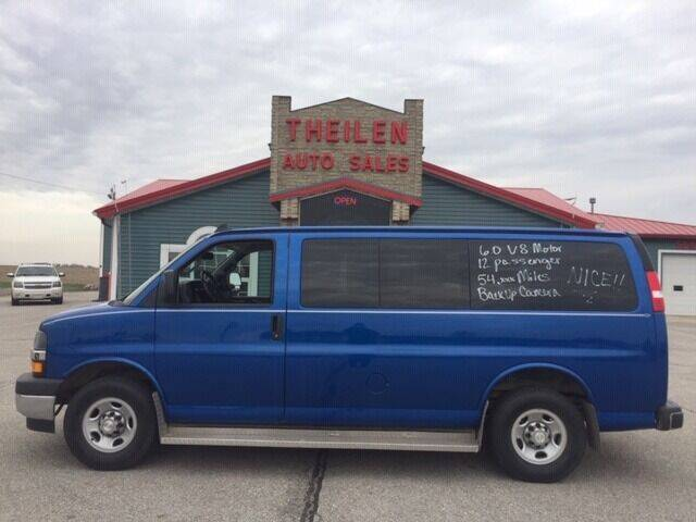 2018 Chevrolet Express Passenger for sale at THEILEN AUTO SALES in Clear Lake IA