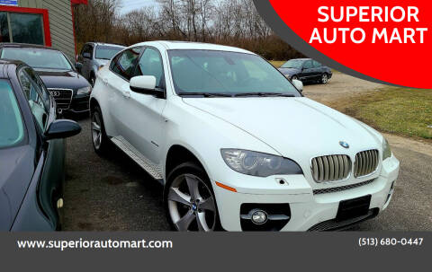 2010 BMW X6 for sale at SUPERIOR AUTO MART in Amelia OH