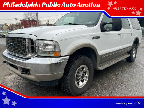 2000 Ford Excursion for sale at Philadelphia Public Auto Auction in Philadelphia PA