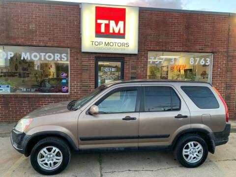 2002 Honda CR-V for sale at Top Motors LLC in Portsmouth VA