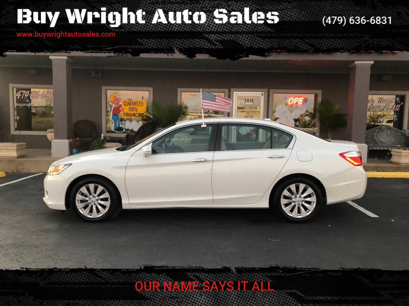 2014 Honda Accord for sale at Buy Wright Auto Sales in Rogers AR