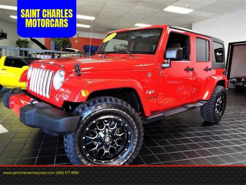 2017 Jeep Wrangler Unlimited for sale at SAINT CHARLES MOTORCARS in Saint Charles IL
