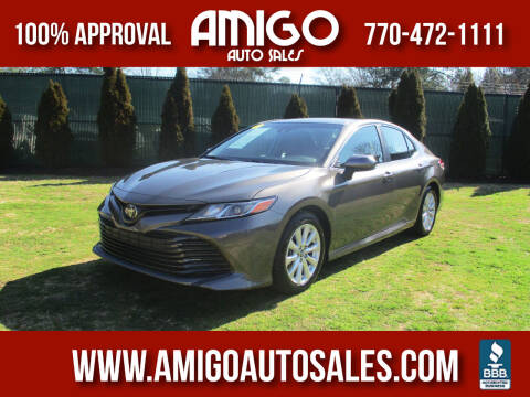 2018 Toyota Camry for sale at Amigo Auto Sales in Marietta GA