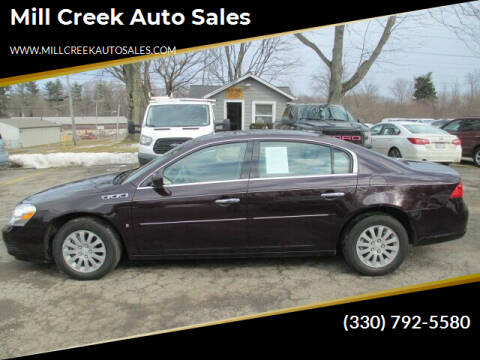 2008 Buick Lucerne for sale at Mill Creek Auto Sales in Youngstown OH