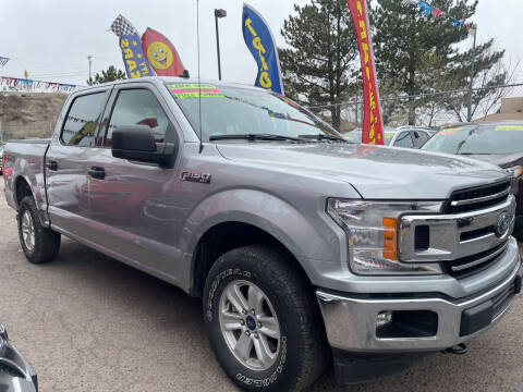 2020 Ford F-150 for sale at Duke City Auto LLC in Gallup NM